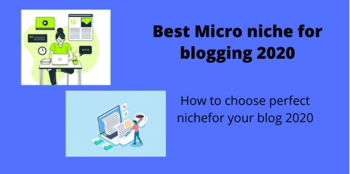 Best Micro niche for blogging 2020